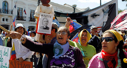 Viva Assange! Latin American groups rally around Ecuador's asylum decision. (+video)