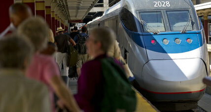 Obama plan for high-speed rail, after hitting a bump, chugs forward again