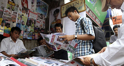 Myanmar ends censorship on media publications