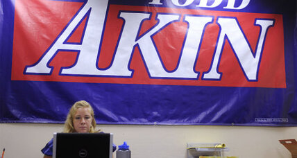 What's keeping Todd Akin in Senate race? (+video)