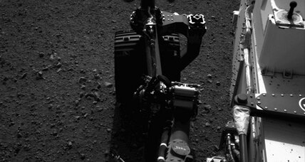Mars rover Curiosity to go for first drive Weds.