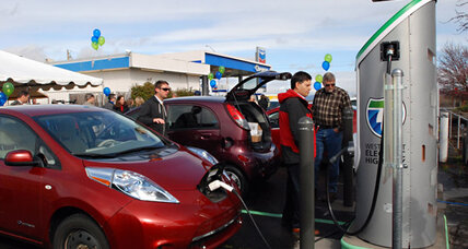 Washington goes green? Three senators who drive plug-in cars.
