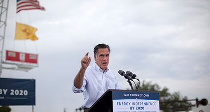 Mitt Romney's energy plan: What does it promise? (+video)