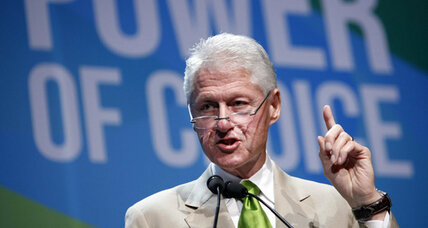 Bill Clinton pitches for Obama: 'We need to keep going with his plan'