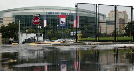 Tropical Storm Isaac could shake up GOP convention security