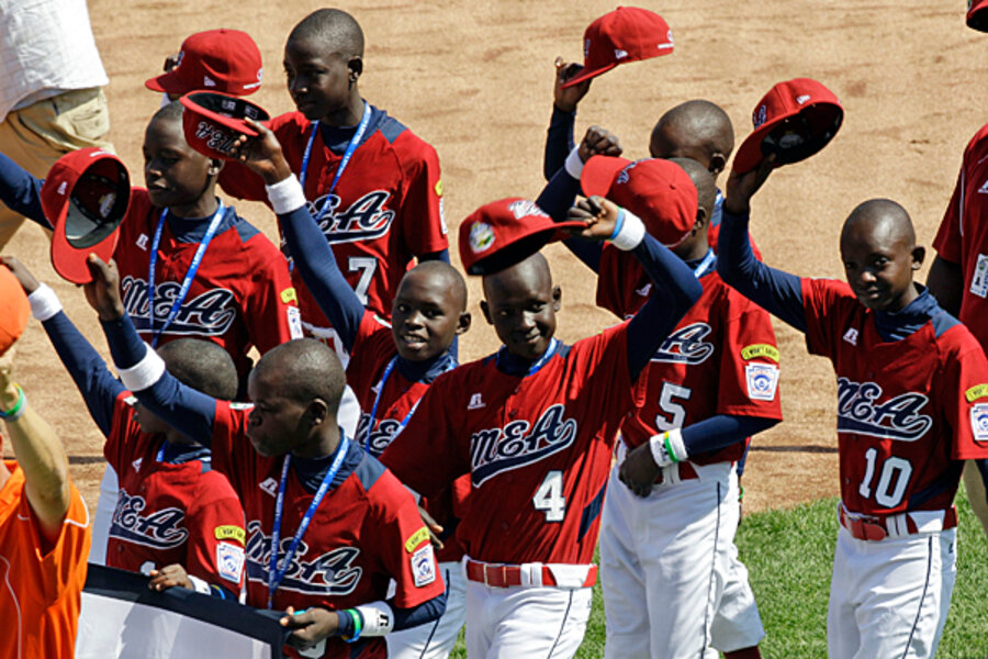 Showing at Little League World Series buoys Uganda
