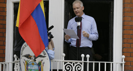 Britain and Ecuador take steps to resolving Assange row