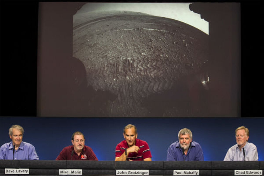 Touchdown: NASA rover Curiosity lands on Mars