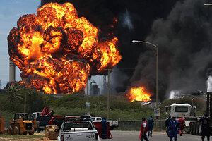 VENEZUELA REFINERY EXPLOSION PDF