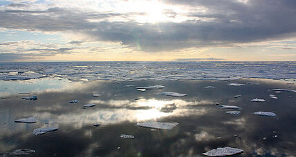 Arctic ice reaches record low, could worsen global warming
