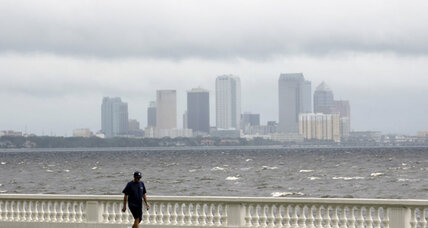 Tropical Storm Isaac bears down on New Orleans ahead of Katrina anniversary