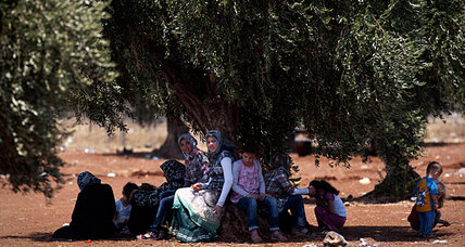 Turkey wants safe haven for refugees in Syria. Will UN – or NATO – oblige?