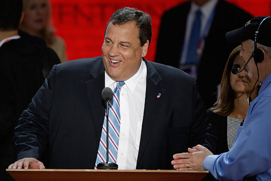 Chris Christie's big hope in GOP convention speech: an Obama