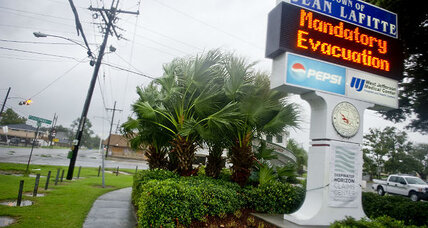 Hurricane Isaac hits land in Louisiana