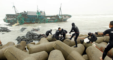 Typhoon Bolaven hits South Korea, killing five