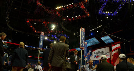Which cities have the inside track on hosting political conventions?