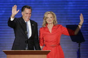 Mitt romneys sexy wife