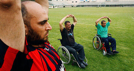 Paralympic Games: For Gaza's athletes, just getting to the practice track is a challenge