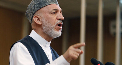 Karzai replaces top officials in Afghan Cabinet shake-up