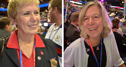 For women at GOP convention, a mission to overcome Romney's gender gap