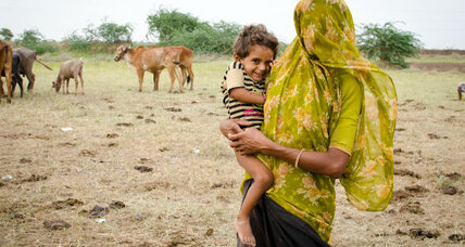 Drought in India: Disrupted rhythms of nomadic family life