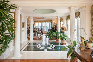 This June Photo Provided By Prudential Douglas Elliman Shows The Interior  Of An Octagon Shaped $100 Million Apartment At The Top Of A Midtown  Manhattan ...
