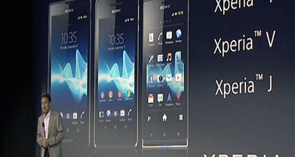 Sony unveils an alphabet soup of Android phones at IFA
