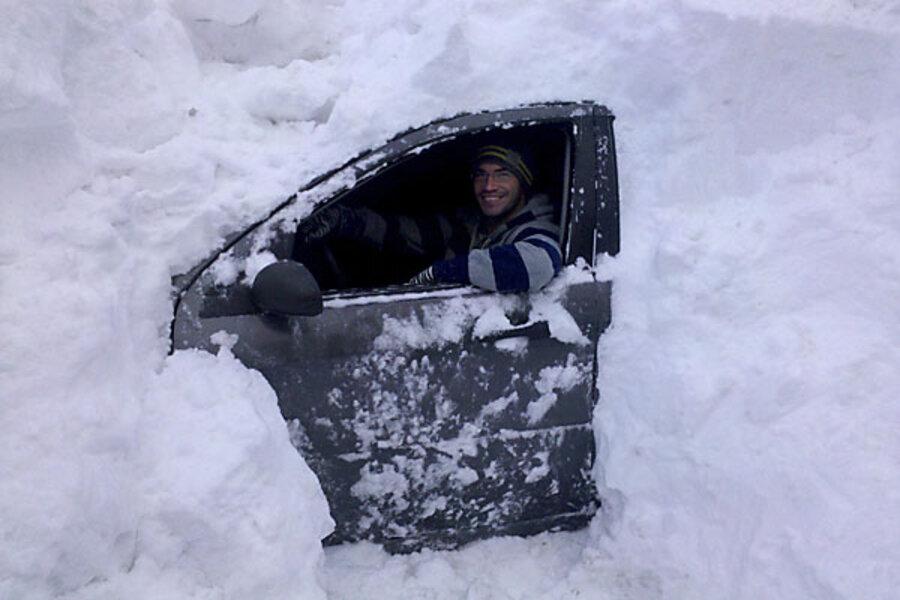 Картинки смешные много снега