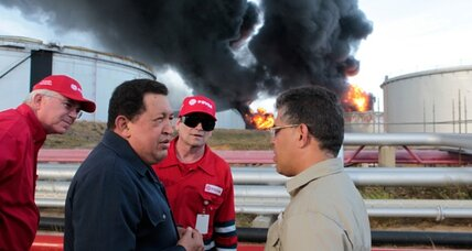 Venezuela refinery fire burns for third day