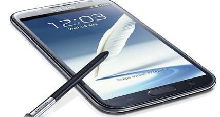 Samsung Galaxy Note II: Have stylus, will travel