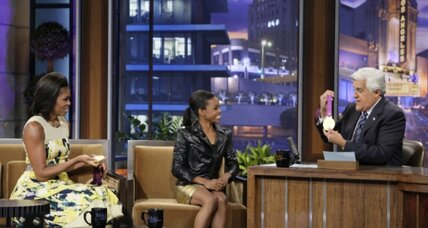Layoffs, pay cuts. Troubled firm? No. 'The Tonight Show.'