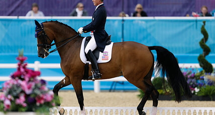 Olympic Dressage gets under way. How did Ann Romney's horse do?