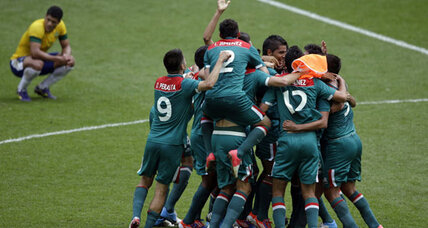 Mexico wins gold in soccer final against Brazil