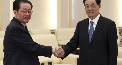 Chinese president meets with uncle of North Korea's Kim Jong-un