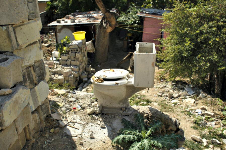 Incredible Soil Turns Human Waste Into Compost In Haiti Csmonitor Com Ibusinesslaw Wood Chair Design Ideas Ibusinesslaworg