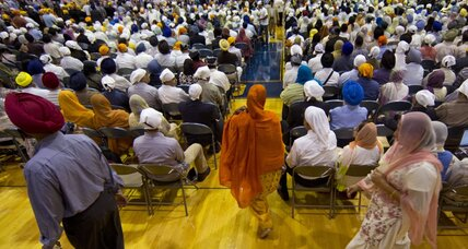 After Sikh temple shooting, a healing act