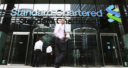 As Standard Chartered plunges, taint for London banks spreads