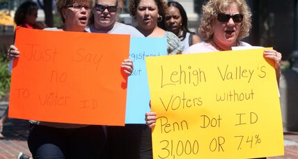 Why judge refused to block Pennsylvania voter ID law