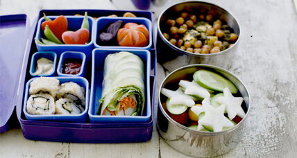 Healthy lunches for kids require organization