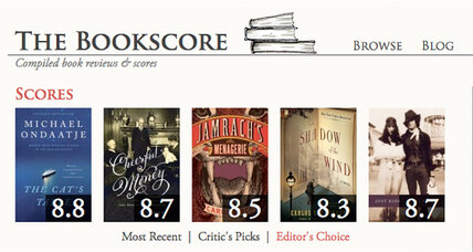The Bookscore: the new Rotten Tomatoes for books?