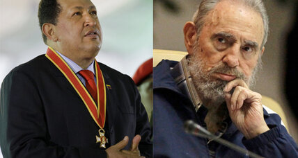Castro and Chavez working on a book?