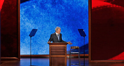 Clint Eastwood brings awkward unscripted RNC performance