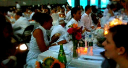 Diner en Blanc comes to Boston, New York