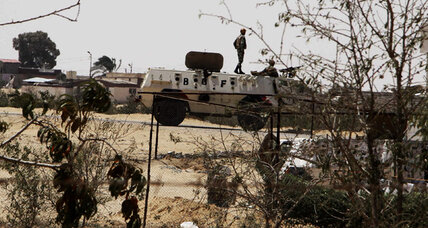 Egypt continues pursuit of Sinai militants