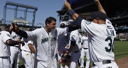 Mariners' Felix Hernandez tosses baseball's third perfect game this year