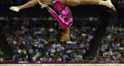 Olympian Gabby Douglas – the gymnast is golden, but her family is obscured