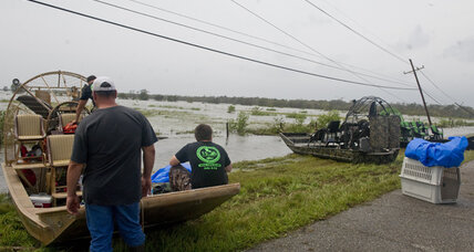 Isaac leaves lots of water and power outages in its wake