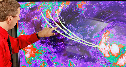 Tropical storm Isaac nears Dominican Republic, gaining strength