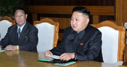 North Korea's Kim Jong-un hosts first diplomat as new leader