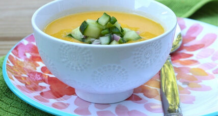 Meatless Monday: Chilled mango cucumber gazpacho